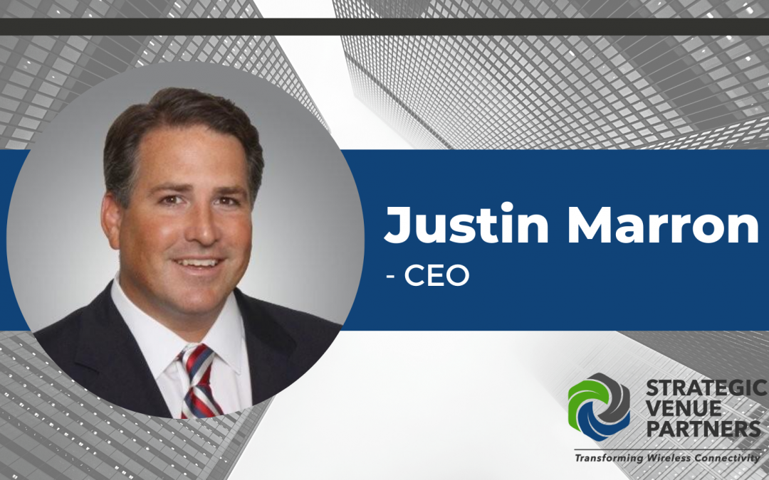 Justin Marron Joins Strategic Venue Partners as CEO